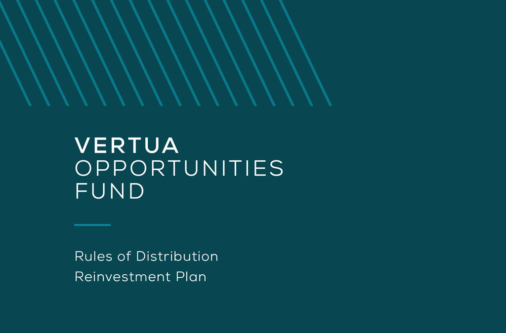 Rules of Distribution Reinvestment Plan